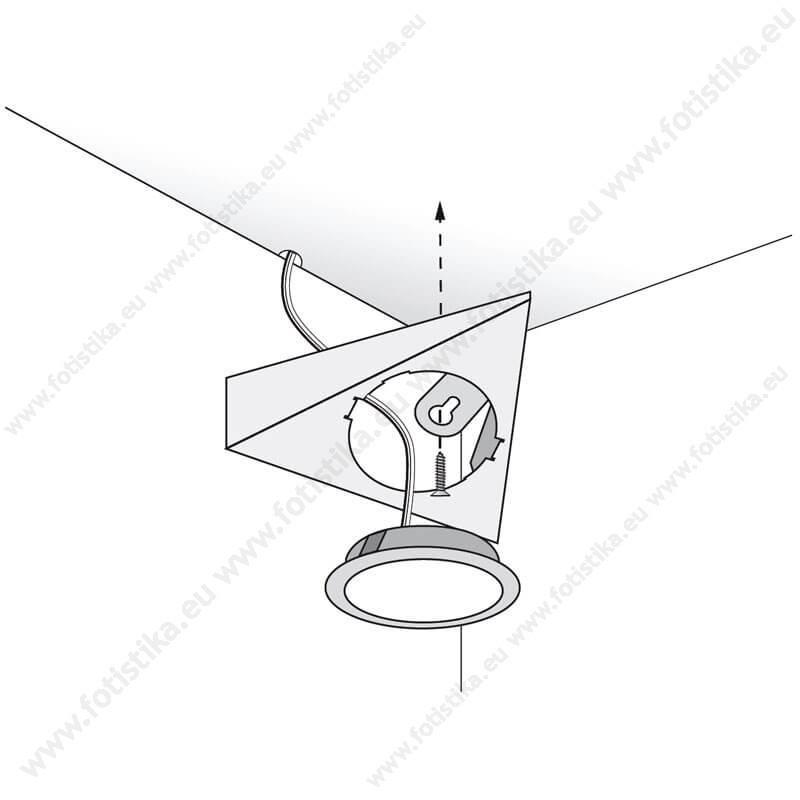 SUNQ ΣΠΟΤΑΚΙΑ LED χωνευτά INOX σε ΘΕΡΜΟ ΛΕΥΚΟ