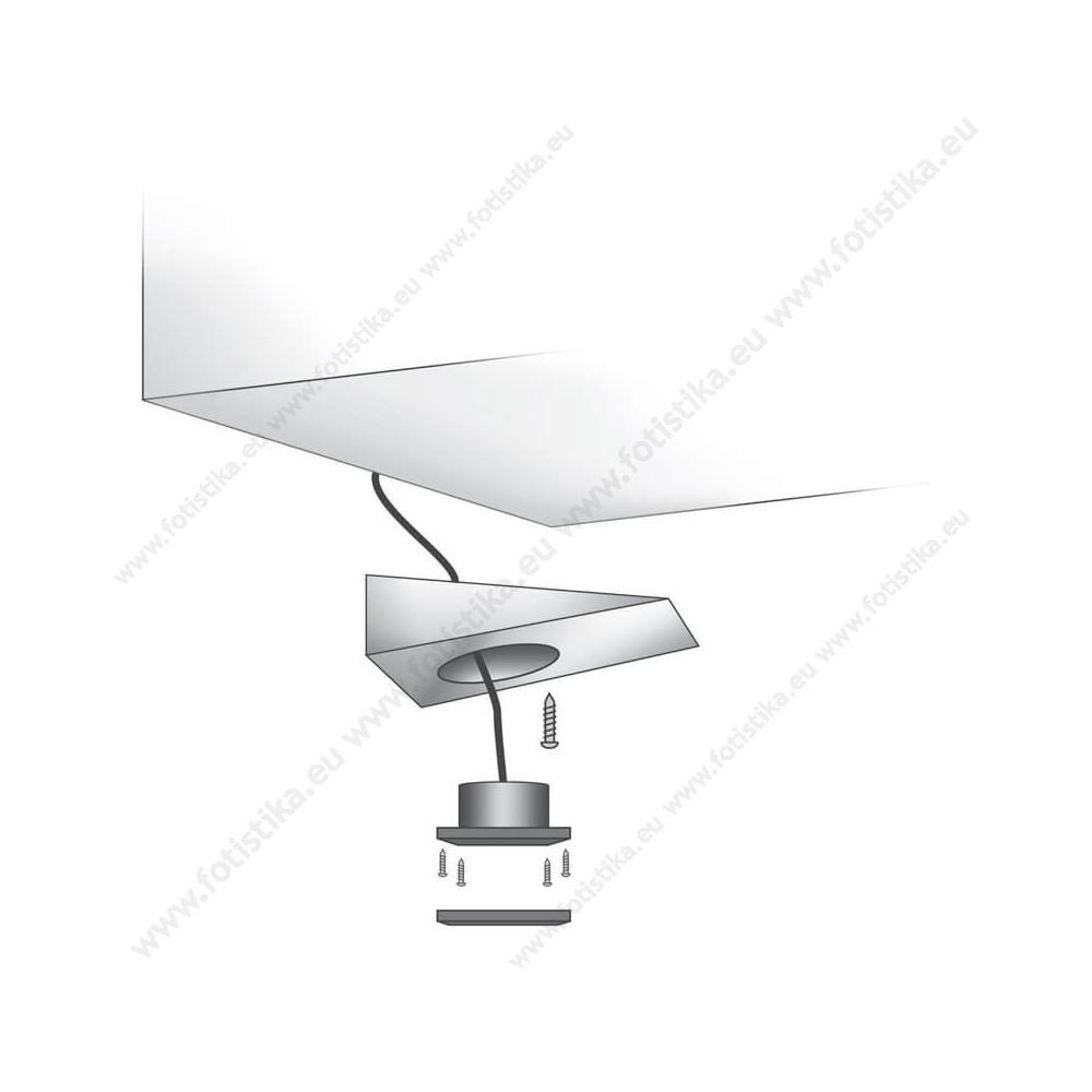 SUNQ ΣΠΟΤΑΚΙΑ LED εξωτερικά INOX σε ΘΕΡΜΟ ΛΕΥΚΟ