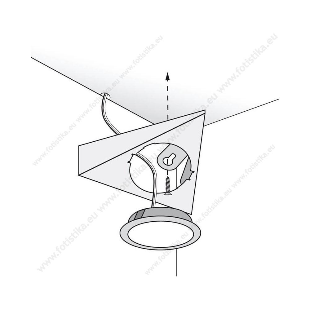 SUNQ ΣΠΟΤΑΚΙΑ LED εξωτερικά ΧΡΩΜΙΟ σε DAYLIGHT ΛΕΥΚΟ